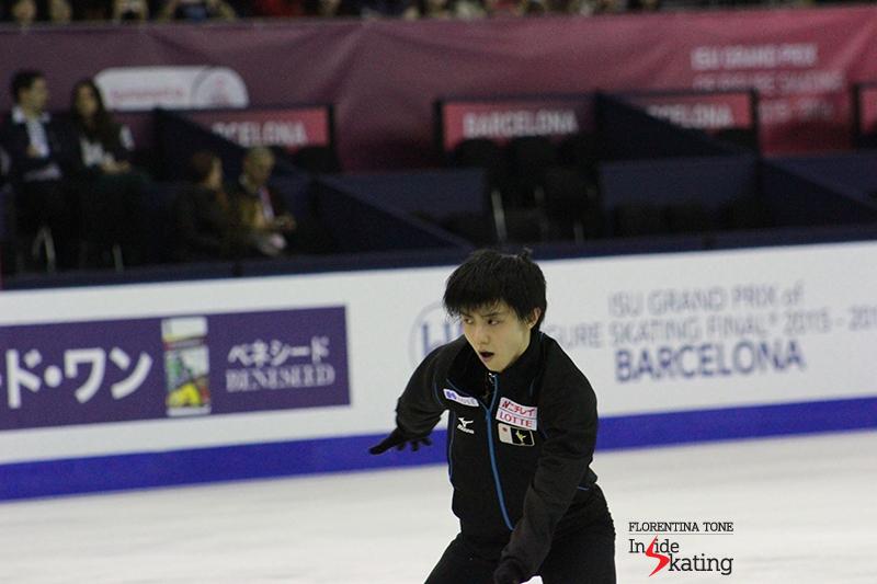 Yuzuru Hanyu, all eyes, all confidence