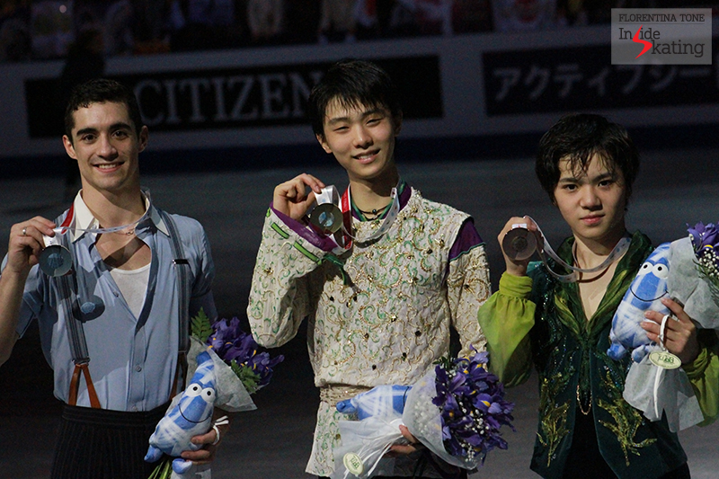The medalists at 2015 GPF December 12 (5)