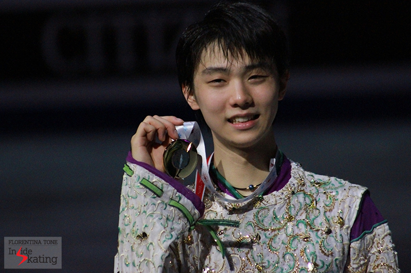 The medalists at 2015 GPF December 12 (7)