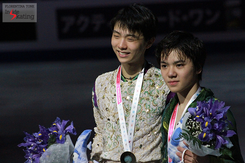 The medalists at 2015 GPF December 12 (9)