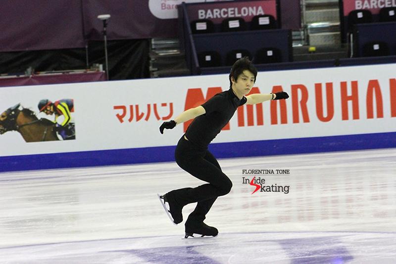 Yuzuru Hanyu Practice December 12 (1)