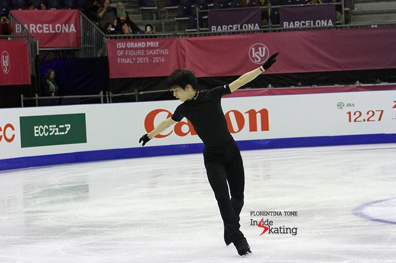 Yuzuru Hanyu Practice December 12 (13)