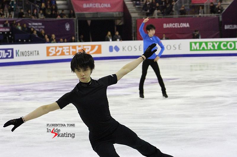 Yuzuru Hanyu Practice December 12 (3)