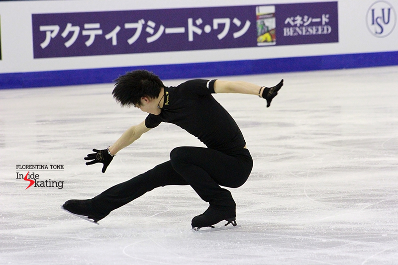Yuzuru Hanyu Practice December 12 (8)