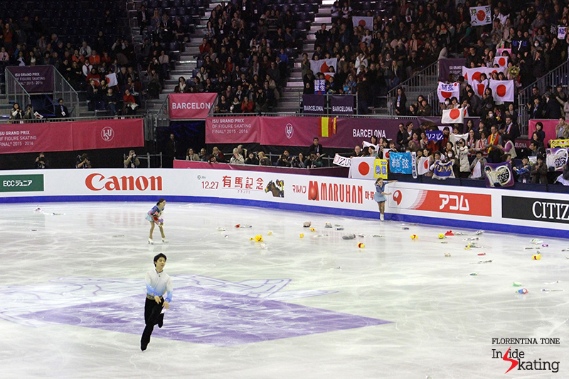Yuzuru Hanyu SP 2015 GPF December 10 (10)
