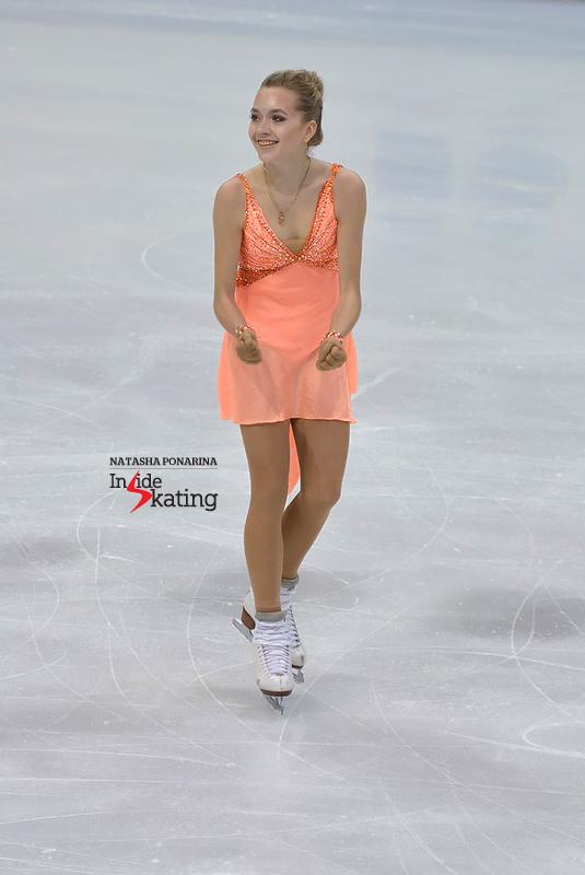 2 Elena Radionova SP 2016 Europeans (5)