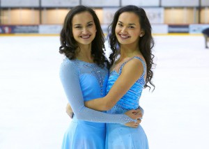 "Camilla Gjersem: ""My twin sister and I never quarrel about figure skating"""