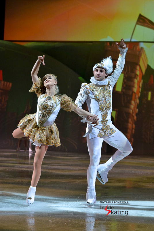 Brian Joubert as the Prince, alongside Katarina Gerboldt as the Princess (Moscow)