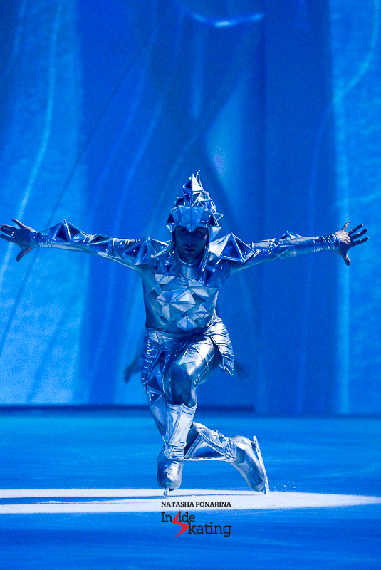Brian Joubert, the Ice Knight (Moscow)