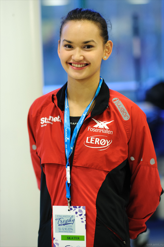Camilla Gjersem at 2014 Finlandia Trophy (photo: Askar Ibragimov)