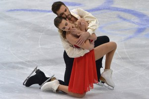 Creating magic at 2016 Europeans: Gabriella Papadakis and Guillaume Cizeron