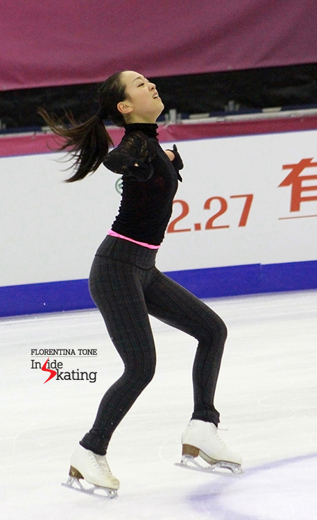 """I could say «Bella, bella», even say «Wunderbar»/Each language only helps me tell you/How grand you are"" - no better choice of music for Mao Asada in her comeback season"