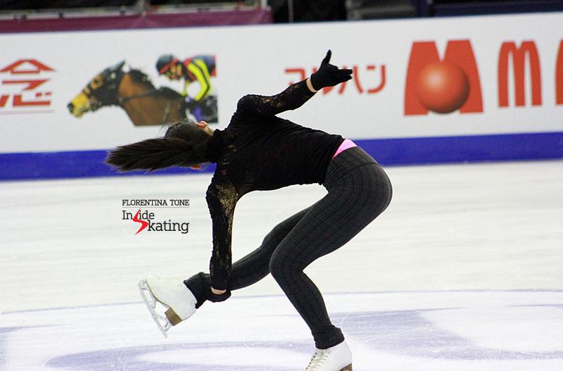 Mao Asada practice 2015 GPF December 10 (12)