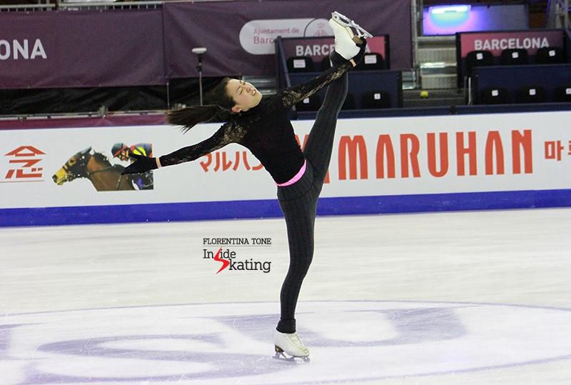Mao Asada practice 2015 GPF December 10 (13)