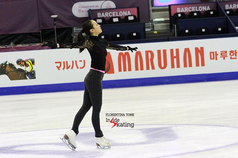 Mao Asada practice 2015 GPF December 10 (14)