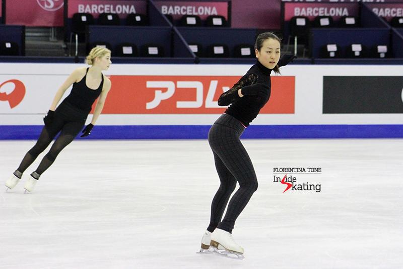 Mao Asada practice 2015 GPF December 10 (8)