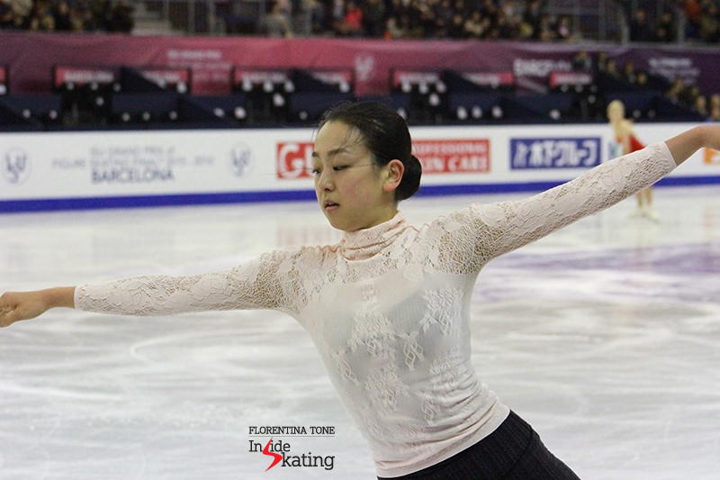 Mao Asada practice 2015 GPF December 12 (1)