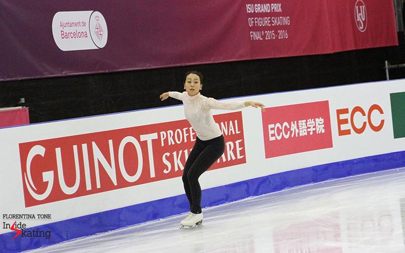 Mao Asada practice 2015 GPF December 12 (17)