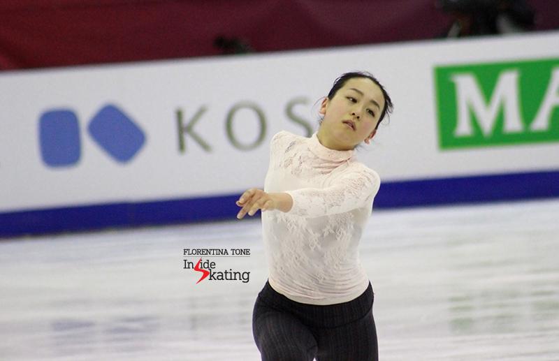 Mao Asada practice 2015 GPF December 12 (4)