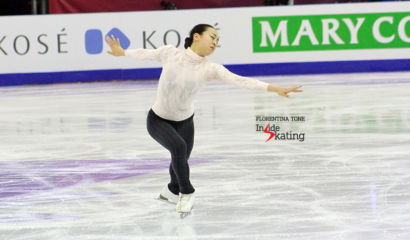 Mao Asada practice 2015 GPF December 12 (5)