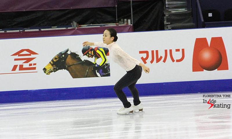 Mao Asada practice 2015 GPF December 12 (6)