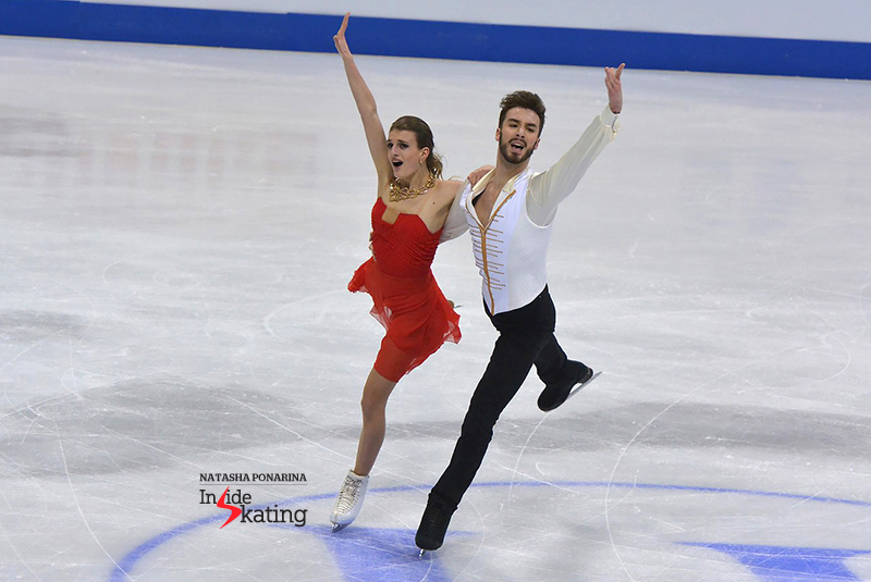 2 Gabriella Papadakis and Guillaume Cizeron SD 2016 Europeans (7)