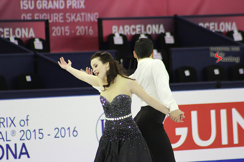 3 Anna Cappellini and Luca Lanotte practice FD 2015 GPF (1)