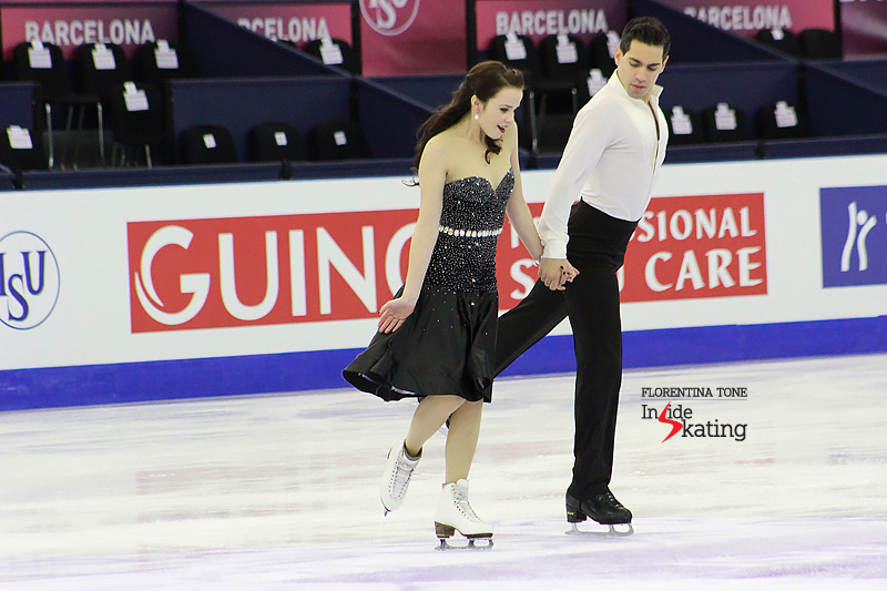 3 Anna Cappellini and Luca Lanotte practice FD 2015 GPF (2)