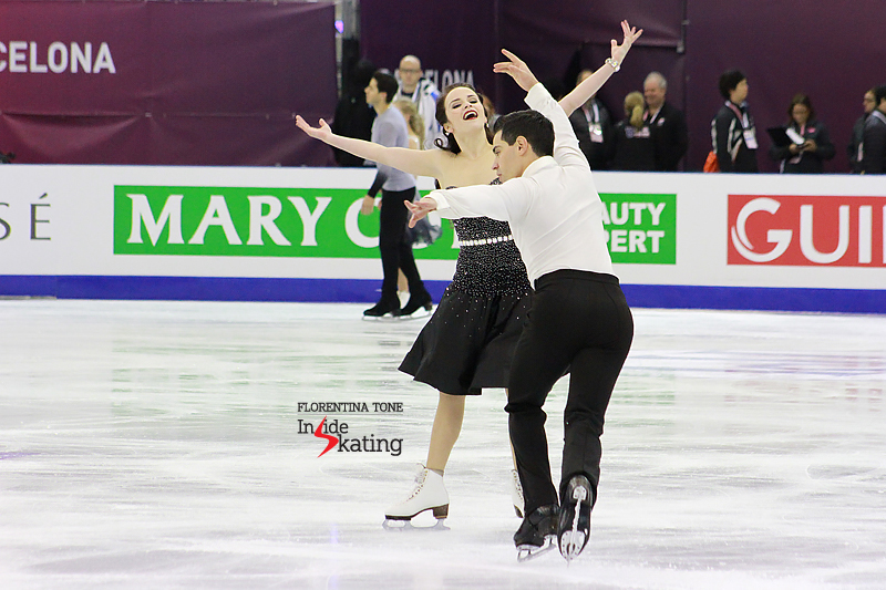 3 Anna Cappellini and Luca Lanotte practice FD 2015 GPF (4)