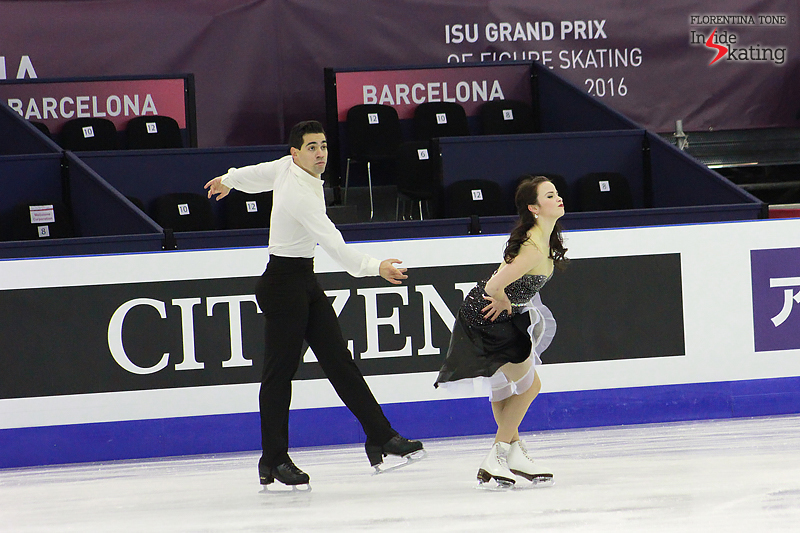 3 Anna Cappellini and Luca Lanotte practice FD 2015 GPF (8)