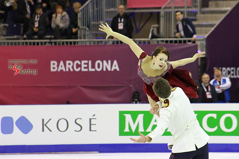 5 Ekaterina Bobrova and Dmitri Soloviev practice FD 2015 GPF (12)