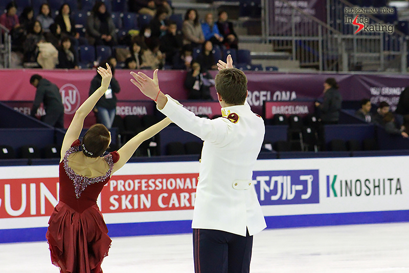5 Ekaterina Bobrova and Dmitri Soloviev practice FD 2015 GPF (13)