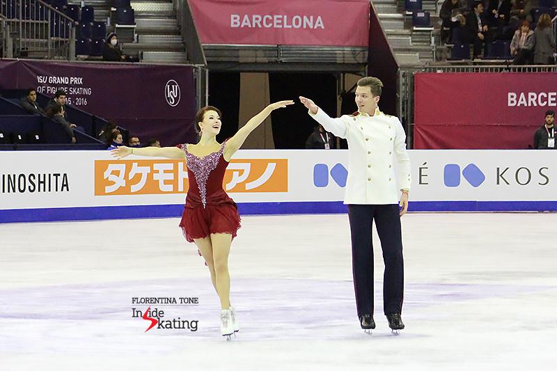 5 Ekaterina Bobrova and Dmitri Soloviev practice FD 2015 GPF (14)