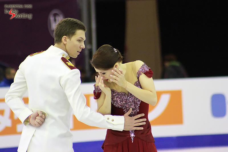5 Ekaterina Bobrova and Dmitri Soloviev practice FD 2015 GPF (2)