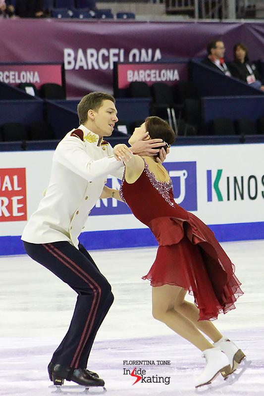 5 Ekaterina Bobrova and Dmitri Soloviev practice FD 2015 GPF (6)