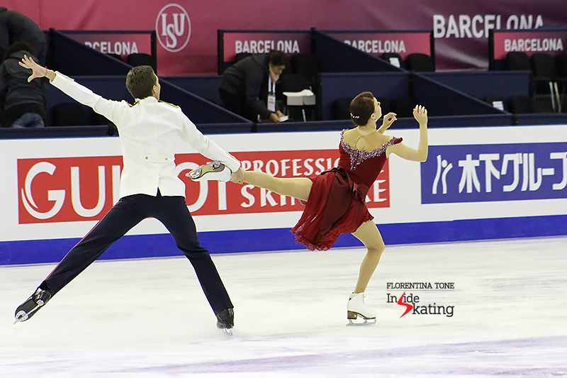 5 Ekaterina Bobrova and Dmitri Soloviev practice FD 2015 GPF (7)