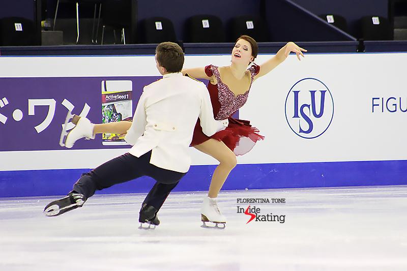 5 Ekaterina Bobrova and Dmitri Soloviev practice FD 2015 GPF (8)