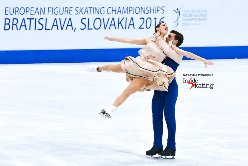 6 Charlene Guignard and Marco Fabbri SD 2016 Europeans (6)