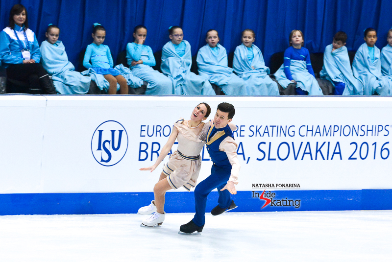 6 Charlene Guignard and Marco Fabbri SD 2016 Europeans (8)