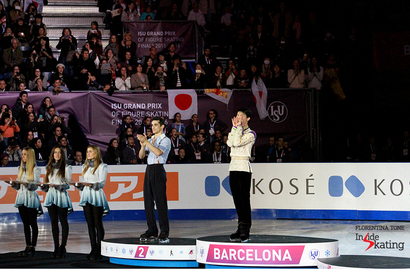 6 Medals ceremony men 2015 GPF (1)