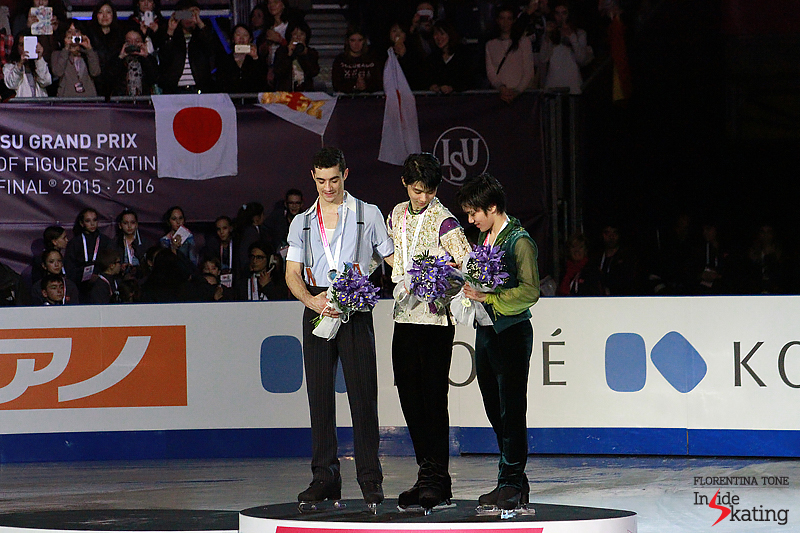6 Medals ceremony men 2015 GPF (12)