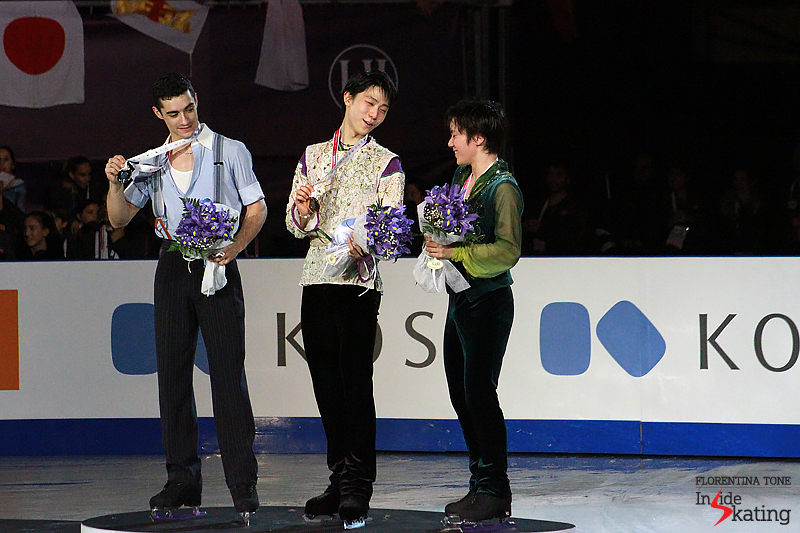 6 Medals ceremony men 2015 GPF (14)
