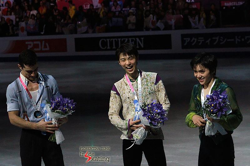 6 Medals ceremony men 2015 GPF (17)
