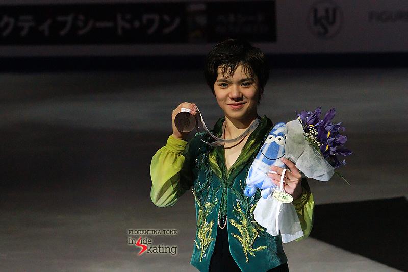 A proud Grand Prix Final bronze medalist