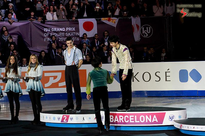 6 Medals ceremony men 2015 GPF (6)