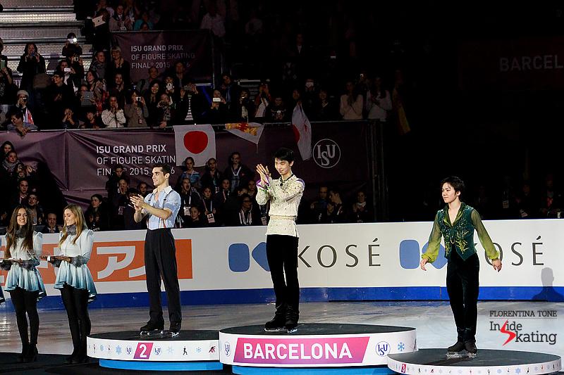 6 Medals ceremony men 2015 GPF (7)