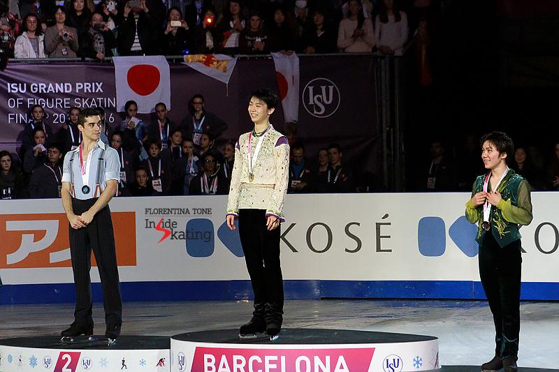 6 Medals ceremony men 2015 GPF (9)