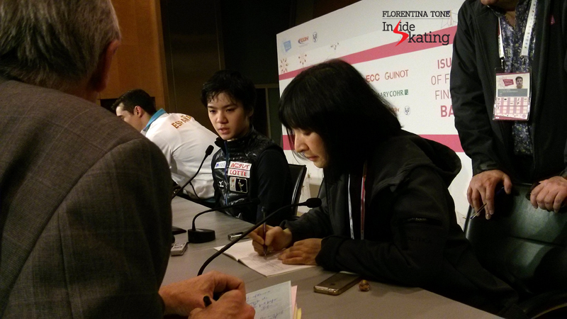 7 Press conference after FS 2015 GPF (15)