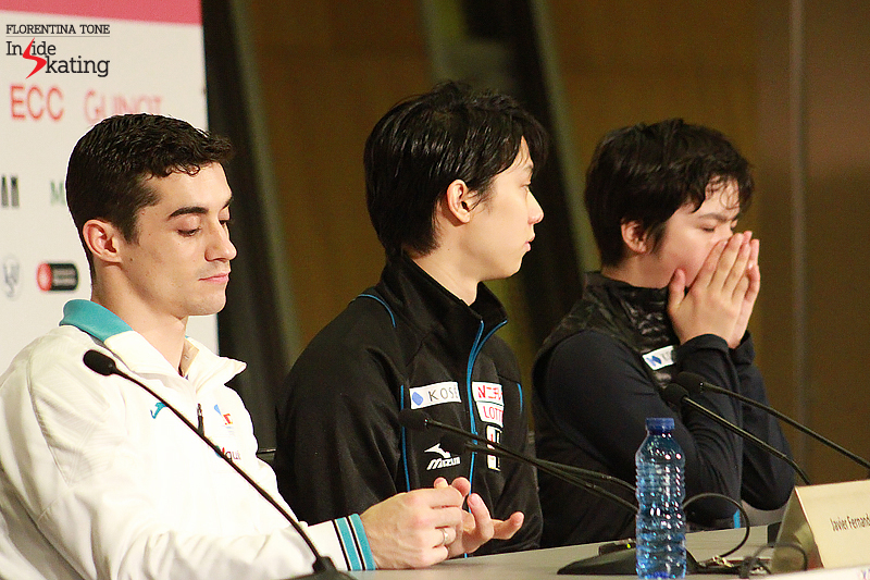 7 Press conference after FS 2015 GPF (6)