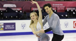 The ice dancing event at 2015 GPF: a journey through emotions